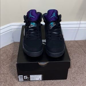 Air Jordan Grape 5s